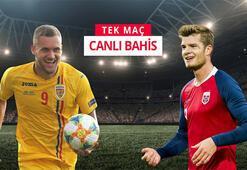 Romanya - Norveç maçı canlı bahis heyecanı Misli.comda