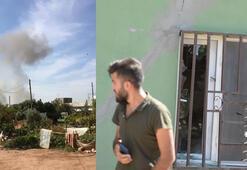 YPGli teröristlerden Kızıltepeye havanlı saldırı