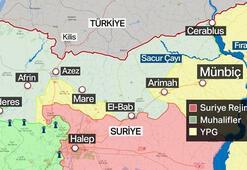 Münbiç nerede Türk Ordusu ve Suriye Ordusu karşı karşıya gelecek mi