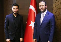 Bakan Kasapoğlu, Enver Cenk Şahini kabul etti