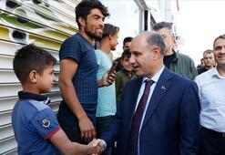 Emniyet Genel Müdürü Mehmet Aktaş sınır hattında