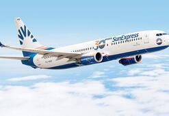 SunExpress uçağına 30 yaş kutlaması