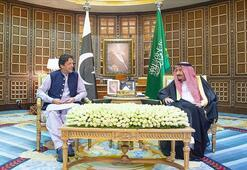 Kral Selman Pakistan Başbakanı İmran Hanla görüştü