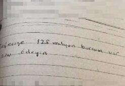 Tefeciyi intihar mektubu yakalattı