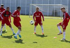 Sivassporda Galatasaray maçı hazırlıkları