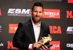 Messi 6ncı kez Altın Ayakkabının sahibi