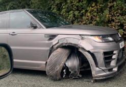 Sergio Aguero trafik kazası geçirdi
