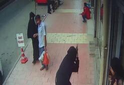 Sokak ortasında silahlı saldırı Saniye saniye kaydedildi...