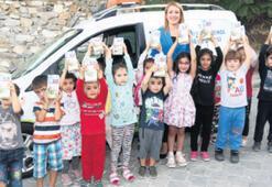 Çocukların sütü Başkan Doğan'dan