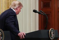 Beyaz Sarayda gergin toplantı Sinirlenen Trump kısa kesti...