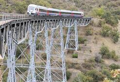 Anadolu DMU Milli Tren Seti Uşakta test sürüşüne başladı