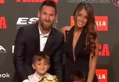 Junior Messi herkesi güldürdü
