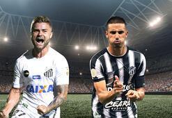 Santos - Ceara maçının canlı bahis heyecanı Misli.comda