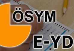 e YDS /12 başvurusu nasıl yapılır ÖSYM giriş