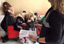 Fuhuş operasyonu 3 kadın gözaltında