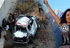 Cemile öğretmen kazada hayatını kaybetti