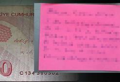 Cami imamı parayı ve notu bulunca şaştı kaldı