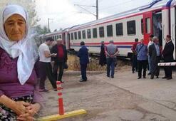 Trenin çarptığı kadın feci şekilde can verdi