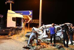 Tuncelide çok feci kaza: 4 kişiye mezar oldu