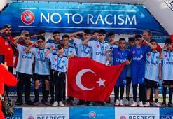 Şırnak UYAFA Takımı İspanyada ikinci oldu