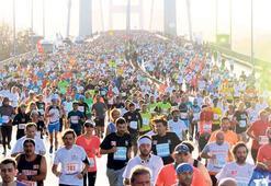 Maratonda bağış rekoru