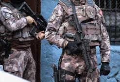 İstanbulda terör operasyonları: 8 gözaltı