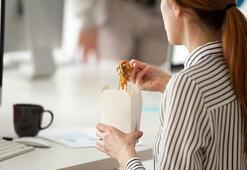 İş yerinde tükenmişlik sendromu kilo aldırıyor