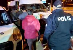 Kayseride otobüste 15 kaçak yakalandı