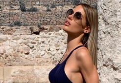 Islanın eşi Gala Caldirola, sosyal medyada gündem olmaya devam ediyor