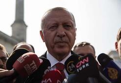 Cumhurbaşkanı Erdoğandan anlaşma sonrası ilk açıklama