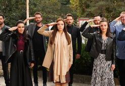 'Kimse Bilmez oyuncularından Mehmetçike destek