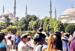 Turist sayısı İstanbul'un nüfusunu geçecek