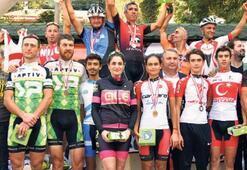 Dağ bisikletçileri Yunusemre'de