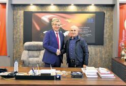 Başkan Arslan'a başarılar  diledi