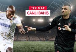 Ankaragücü - Beşiktaş maçı canlı bahisle Misli.comda