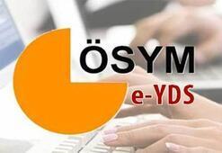 e-YDS 2019/11 İngilizce sonuçları açıklandı ÖSYM giriş