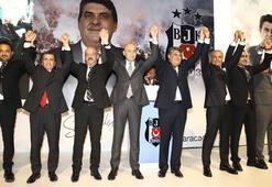 Beşiktaşta başkan adayı Serdal Adalı listesini tanıttı