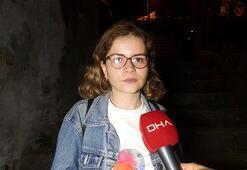 Beşiktaşta genç kadına taciz saniye saniye kamerada
