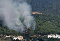 Alanyada orman yangını