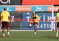 Galatasarayda Real Madrid hazırlıkları Falcao ayrı çalıştı...