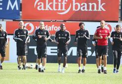 Eksik Beşiktaşta Braga hazırlıkları
