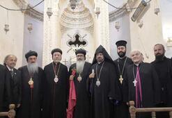 Azınlık cemaatlerinden Barış Pınarı Harekatı için dua