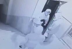 Hırsızların yakalanma anları kamerada
