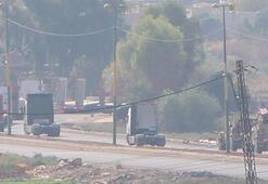 ABDnin Irak yönünden gelen konvoyu Suriyede görüntülendi