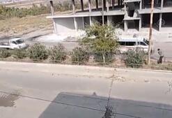 Teröristler, Rasulayndan Kızılhaç ambulansları ve sivil araçlarla kaçıyor
