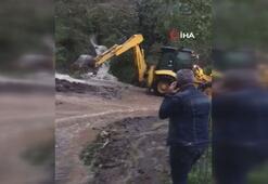 Giresun'da sağanak yağış etkili oldu bir kişi kayıp