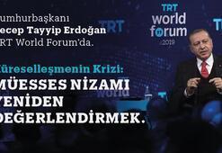 Cumhurbaşkanı Erdoğan TRT World Forum'da dünyaya seslenecek