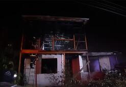 Kayınpeder dehşeti devam ediyor Bu kez evi ateşe verdi