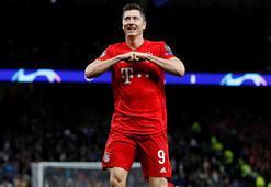 Lewandowski, Bundesligada rekora koşuyor