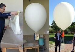 Her gün aynı saatte bu balonu uçuruyorlar Onun sayesinde haberimiz oluyor...